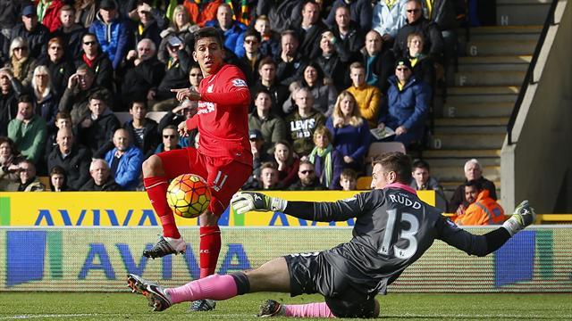 Rimonta e controrimonta, Liverpool corsaro a Norwich 5-4