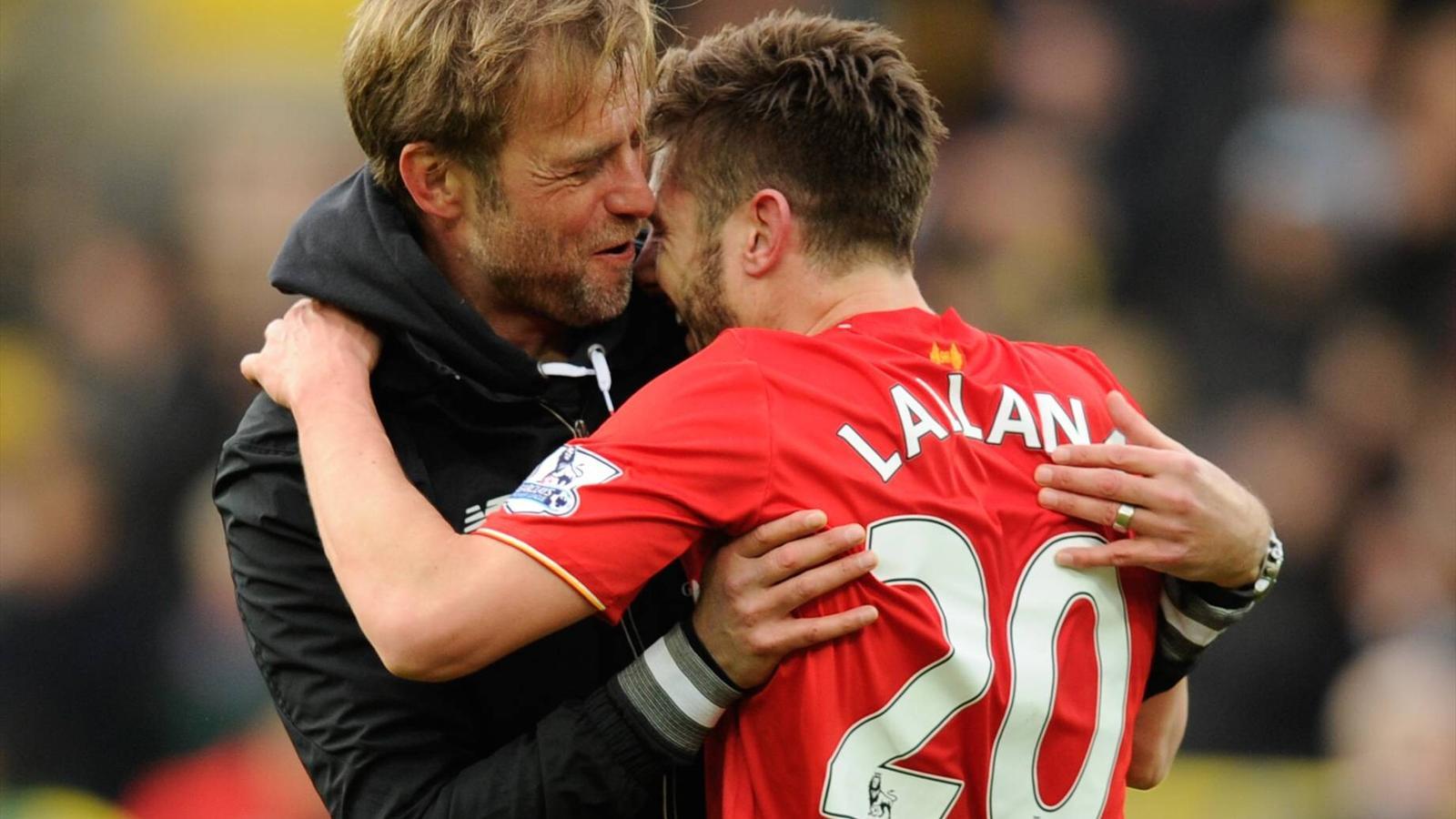 Jürgen Klopp, Adam Lallana, FC Liverpool