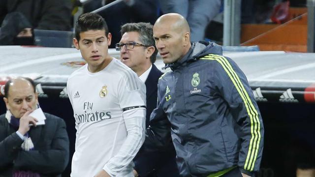 James, le premier petit nuage dans le ciel de Zidane