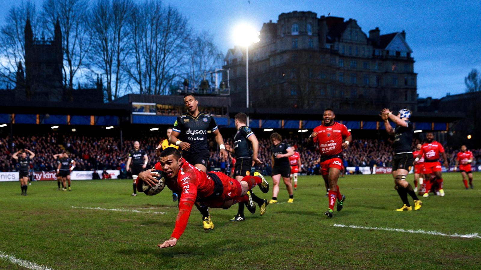 Bryan Habana (Toulon) face à Bath - 23 janvier 2016