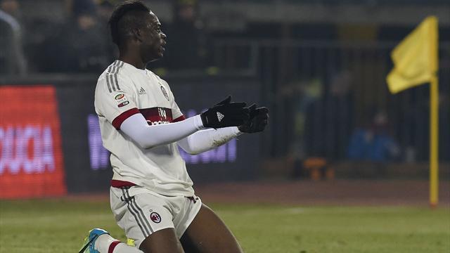 Milan barely beat Alessandria thanks to Balotelli penalty