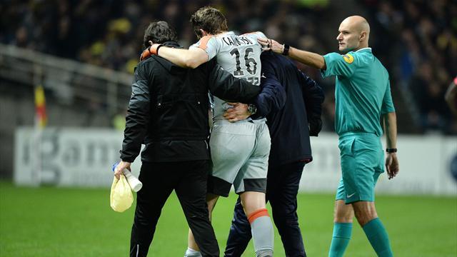 Bordeaux avait raison de craindre le pire : Carrasso ne rejouera pas cette saison