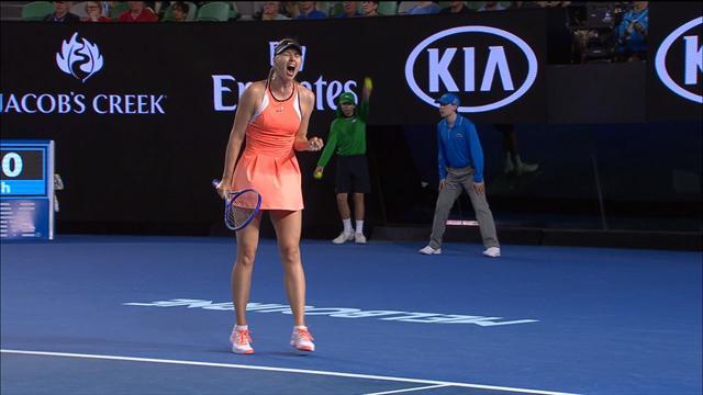 Sharapova suspendue par l'ITF à partir du 12 mars