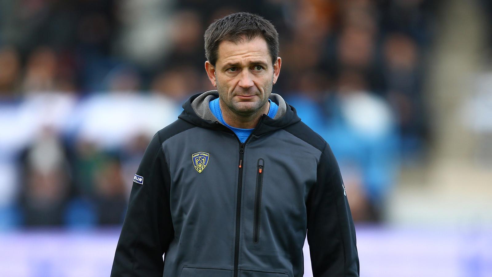 Franck Azéma, l'entraîneur en chef de Clermont