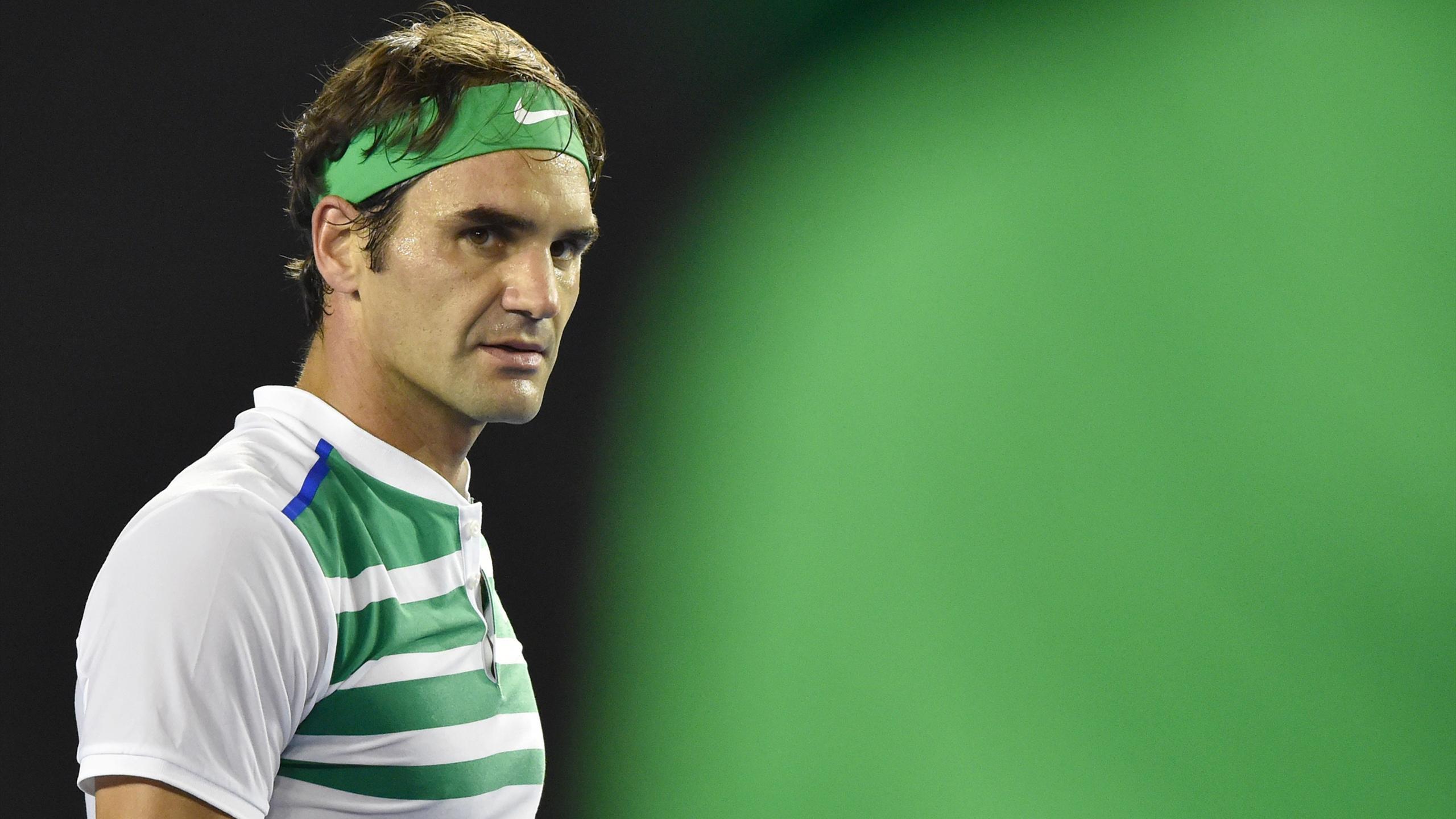 Es läuft in Melbourne: Roger Federer