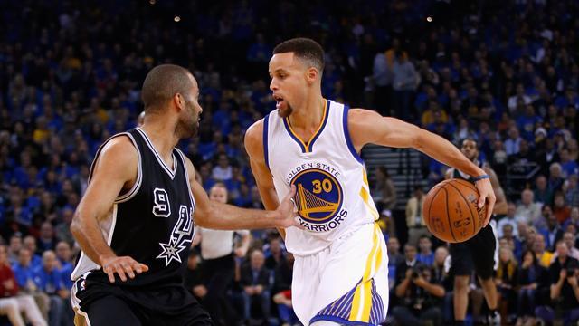 Curry en feu et +30 au final : Les Warriors ont donné la leçon à San Antonio