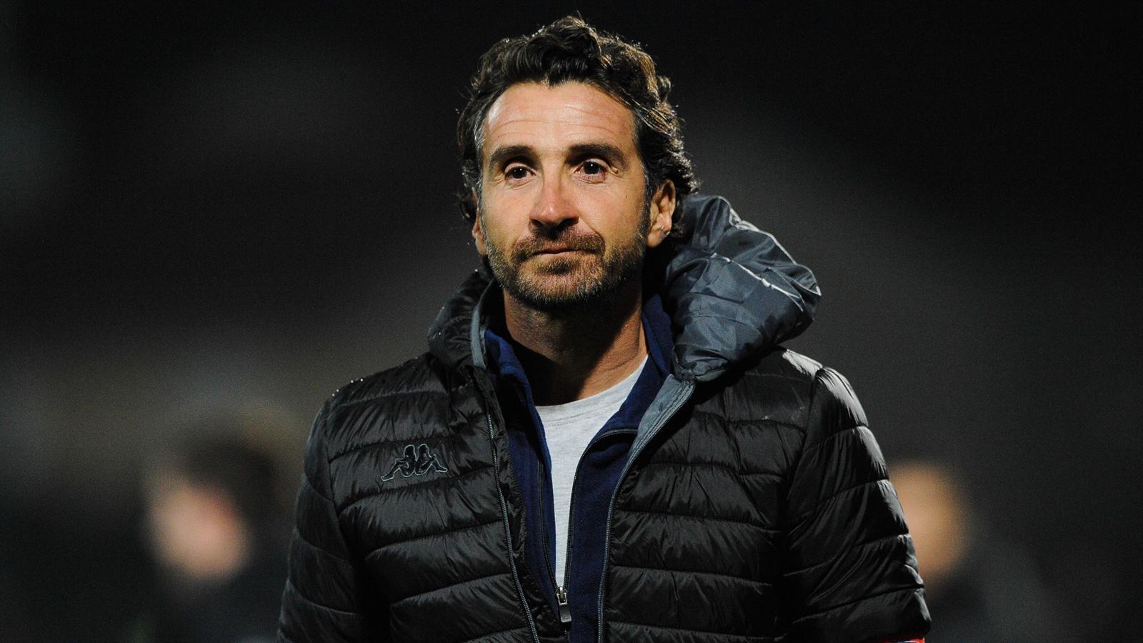 Vincent Etcheto, l'entraîneur de Bayonne - décembre 2015