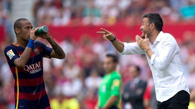 Энрике: «Думаю, Неймар продлит контракт с «Барселоной»