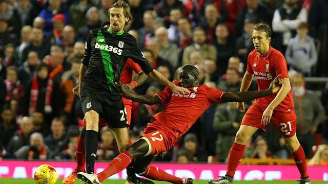 Liverpool-Stoke: Primera final de la era Klopp (0-1, 6-5p)