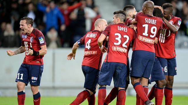 Lille étrille Bordeaux et obtient son ticket pour le Stade de France