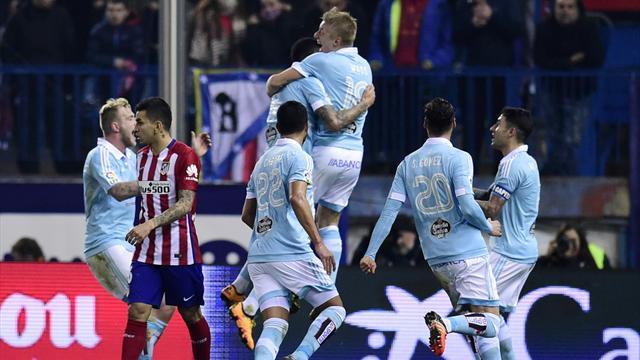 Griezmann n'a pas empêché l'exploit du Celta Vigo
