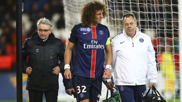 Le PSG fera sans David Luiz à Saint-Etienne, Marquinhos et Verratti de retour