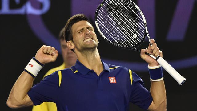 En fusion puis en gestion, Djokovic a eu tout bon