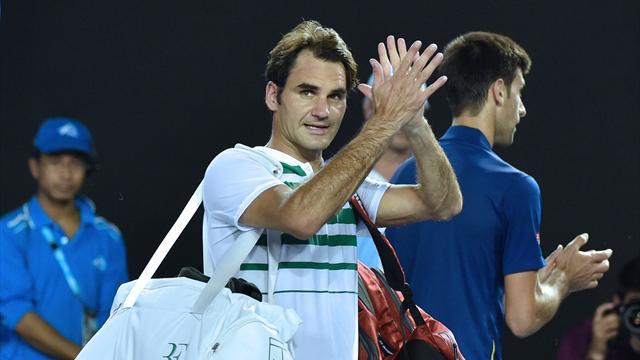 Federer : «Pour le tennis, c'est fantastique ce qu'a fait Novak»