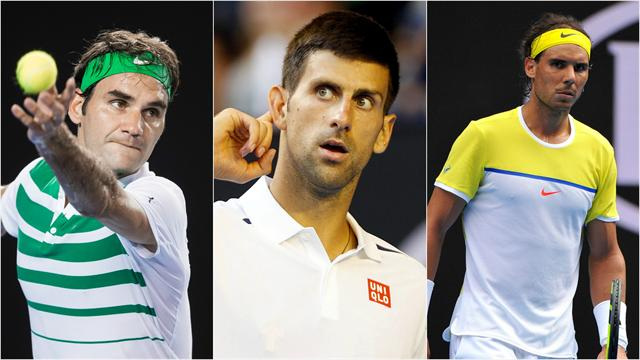Pour la première fois, Djokovic domine Federer et Nadal dans leurs duels directs
