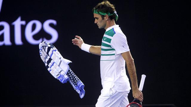 Federer a échappé à la fessée, pas à son destin