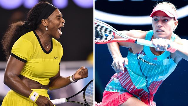 Williams vs Kerber : comment regarder en direct la finale dames ?