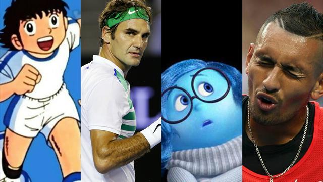 Психоз Димитрова, слезы Фридсам и другие эмоции Australian Open