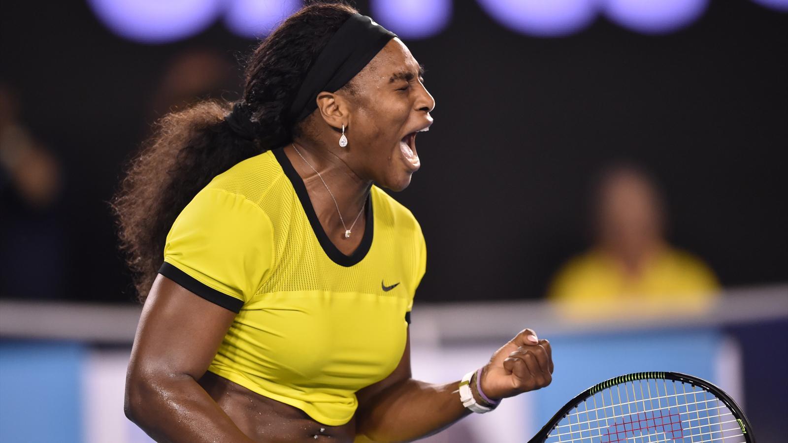 Serena Williams à Melbourne