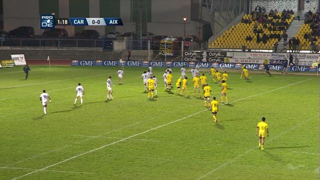 Le résumé de Carcassonne - Provence Rugby