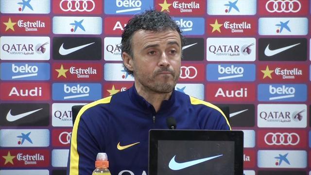 """Luis Enrique : """"J'attends de voir le Camp Nou plein à craquer"""""""