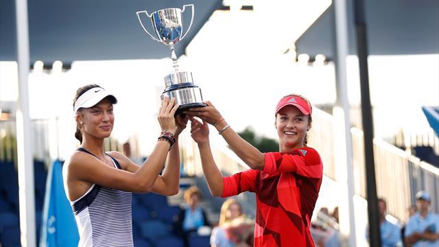 Калинская и Михаликова выиграли юниорский Australian Open