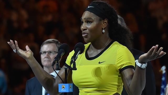 """Serena Williams : """"J'aimerais vraiment être un robot, mais je ne le suis pas"""""""