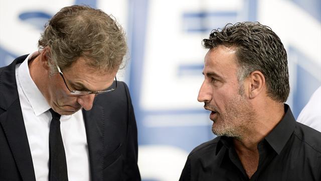 """Galtier: """"Aurier, un joueur qui n'était pas grand-chose avant d'arriver au PSG"""""""