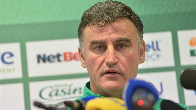 """Galtier : """"Zlatan est rancunier, il n'a pas oublié"""""""