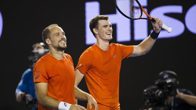 Маррей и Суареш выиграли Australian Open в парах