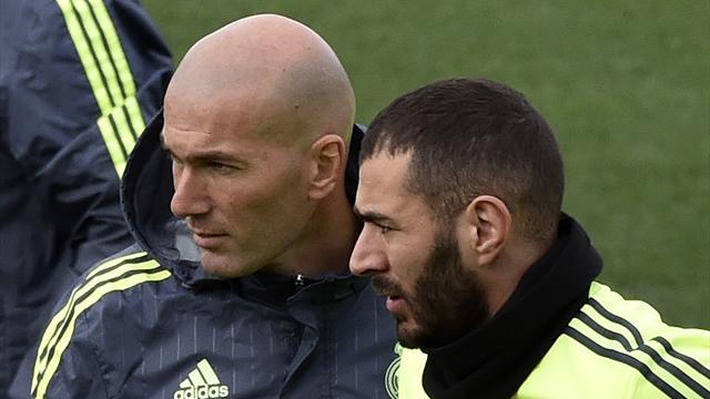 """La levée du contrôle de Benzema, une """"bonne chose"""" selon Zidane"""