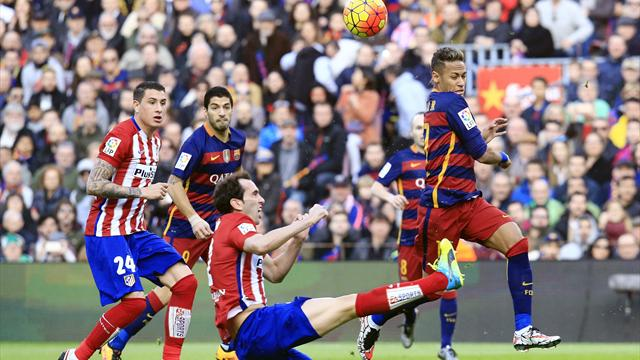 Годин – два. «Атлетико» вдевятером проиграл «Барселоне»