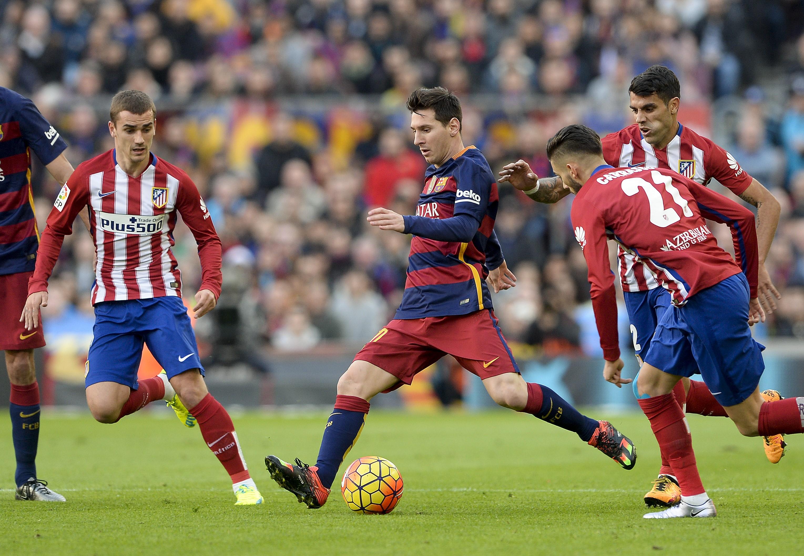Лионель Месси, «Барселона» – «Атлетико Мадрид»