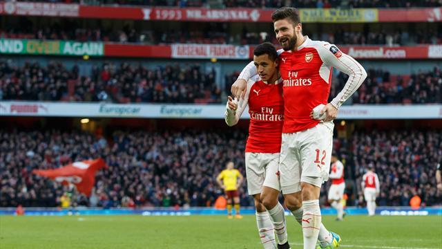 Arsenal s'évite un match de rab et poursuit sa route