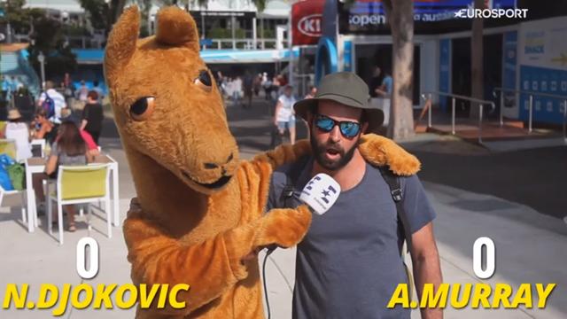 Djokovic ou Murray ? Les pronostics des spectateurs de l'Open d'Australie