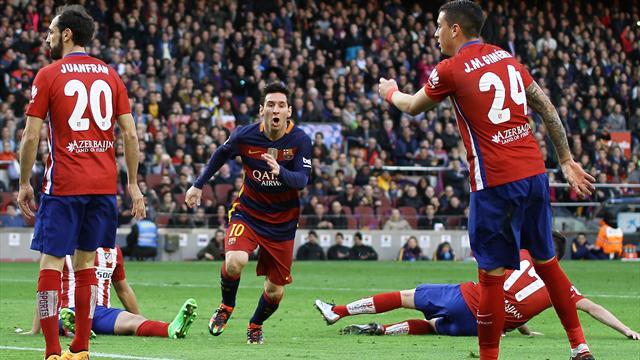 Un quart d'heure de rêve suffit au Barça pour foncer vers un nouveau sacre