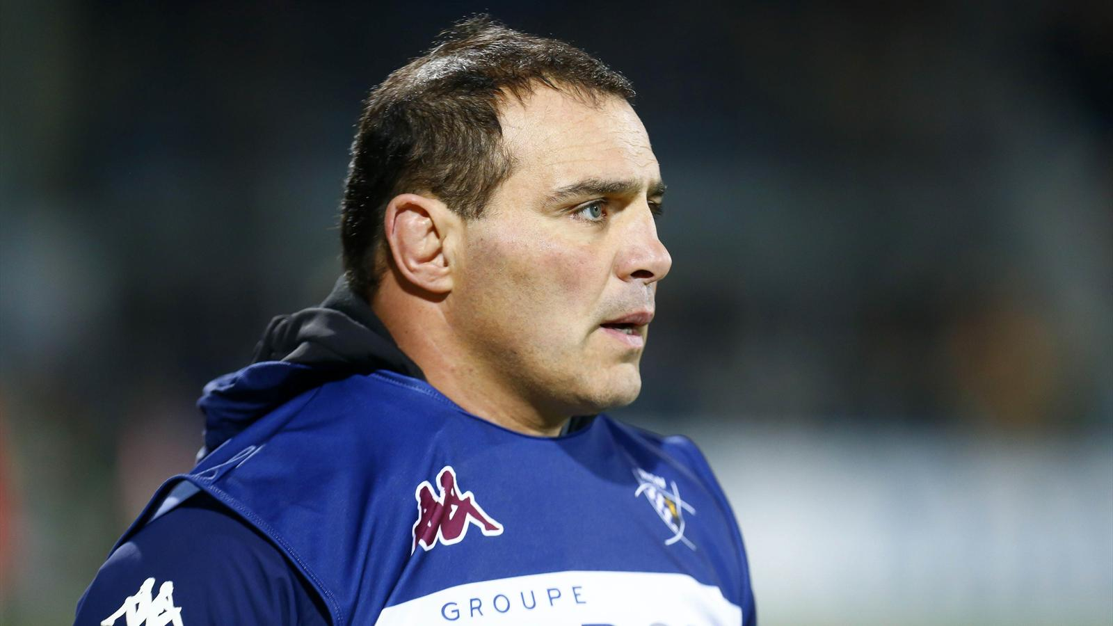 Raphaël Ibanez (Bordeaux-Bègles) - 30 janvier 2016
