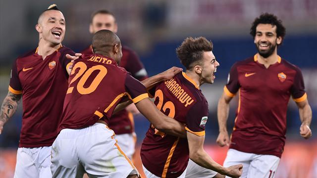 El Shaarawy marque d'entrée, la Roma gagne enfin