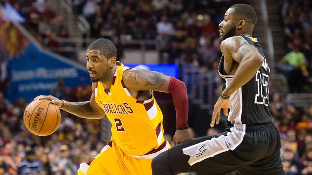 Golden State se fait peur, Cleveland commence à faire peur : ce qu'il faut retenir de la nuit en NBA
