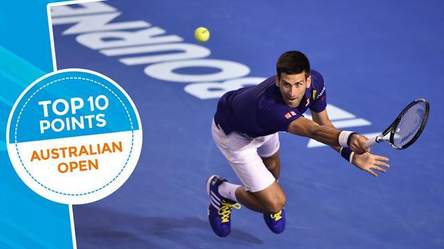 Топ-10 ударов Australian Open-2016