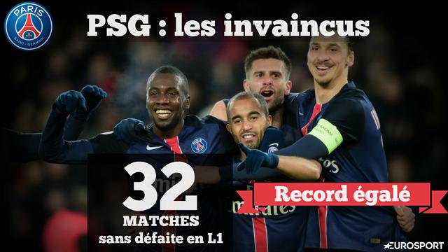 32 matches d'affilée sans défaite : le PSG égale Nantes et entre un peu plus dans l'histoire