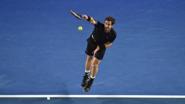 Avec 35% de points derrière sa seconde balle, Murray ne pouvait pas s'en sortir