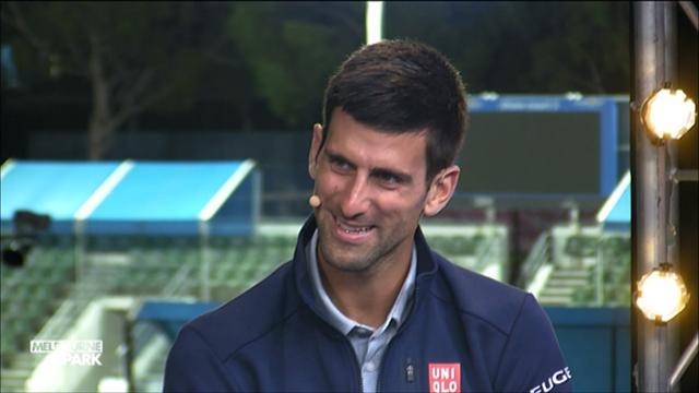 """Djokovic : """"C'est un honneur d'être au même niveau que Laver et Borg"""""""