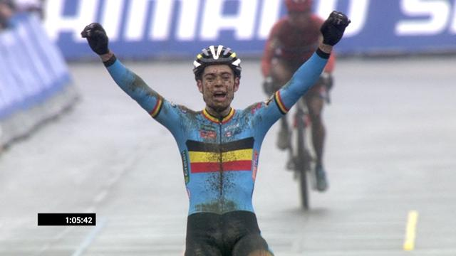 Wout Van Aert claims Cyclo-cross World Championships