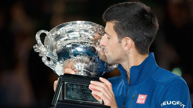 6 побед Джоковича на Australian Open в одной гифке
