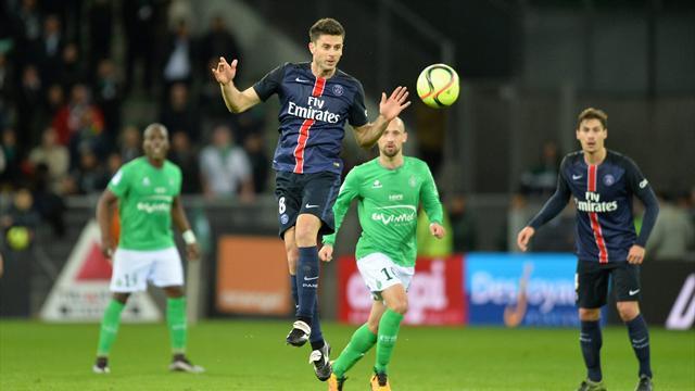 Le PSG jouera sa place dans le dernier carré à Geoffroy-Guichard