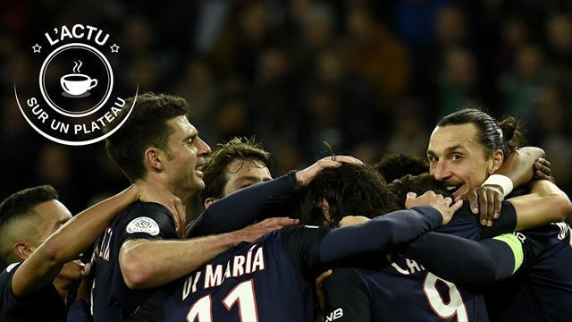 Mercato, un PSG record, Ibra, NBA : l'actu sur un plateau