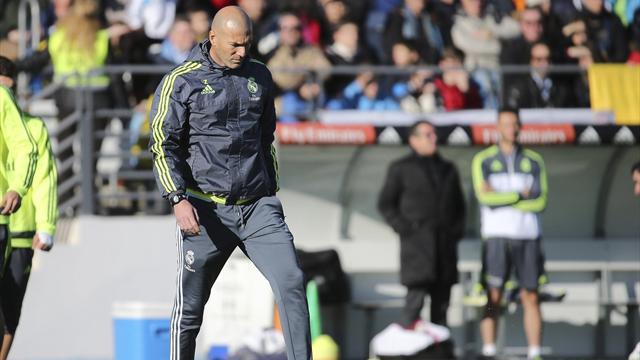 «Реал» с Зиданом набрал столько же очков, сколько с Бенитесом в первых 4 матчах