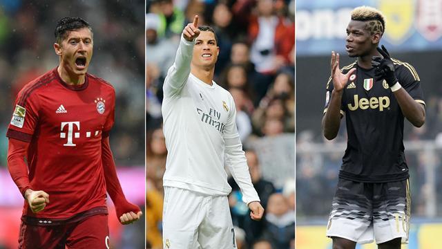 Ronaldo - Lewandowski - Pogba : le Real en rêve, l'équipe du week-end se l'est offert
