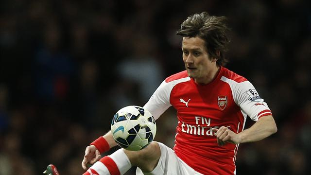 Rosicky raccroche les crampons — Officiel